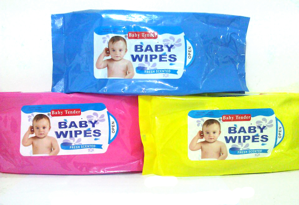 Baby tender baby wipes
